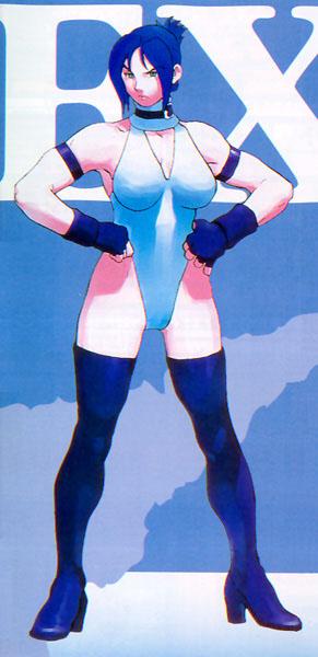 Blair Dame Street Fighter EX  Fighting Layer