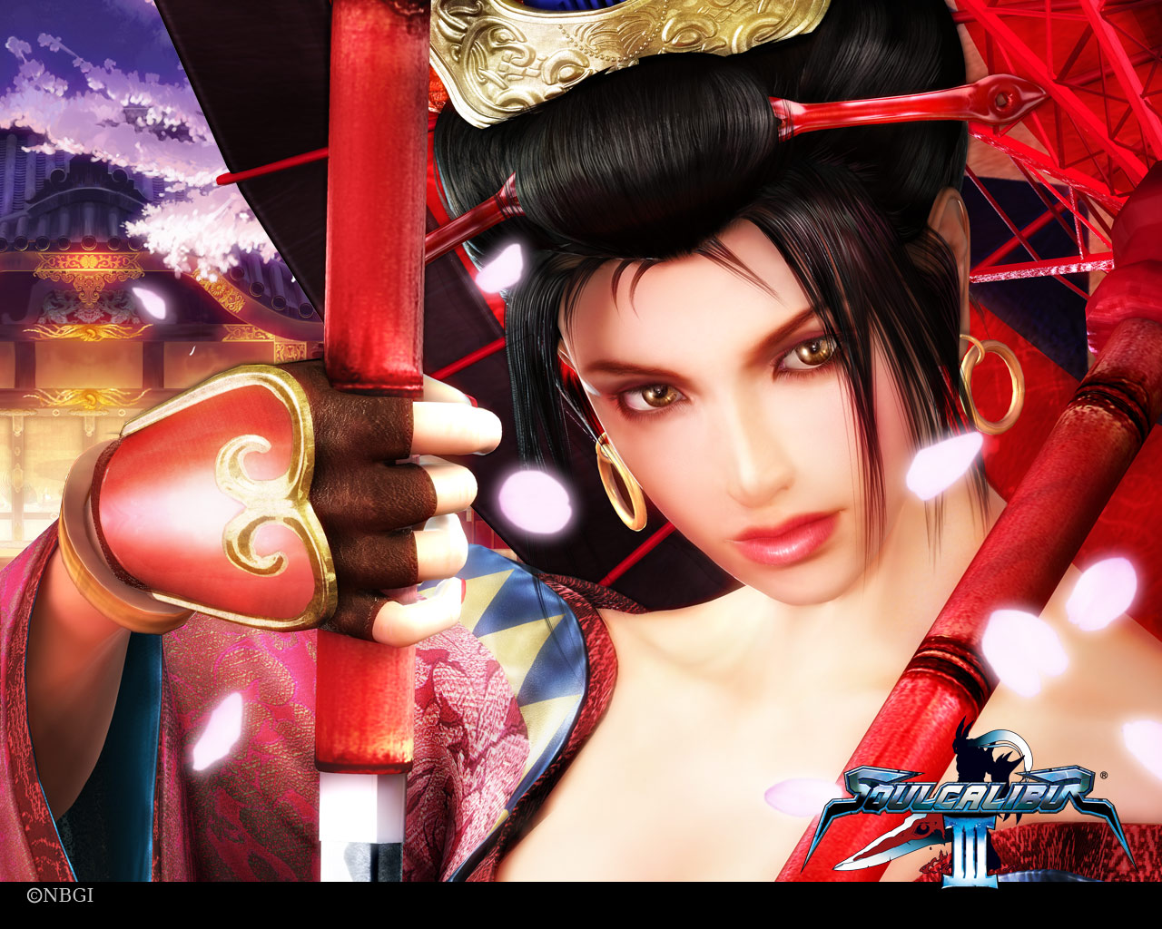 Girl Face Wallpaper Setsuka Soul Calibur