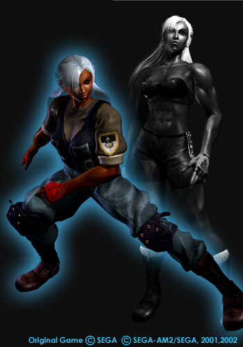 Vanessa Lewis Virtua Fighter