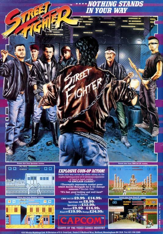 Street Fighter 1987  TFG Profile