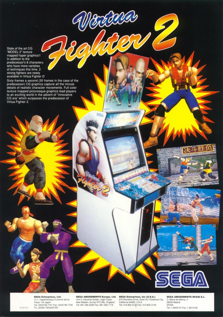 Virtua Fighter 2 1994  TFG Review