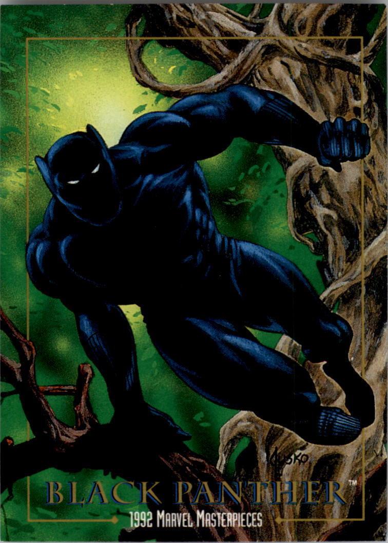 Black Panther Marvel VS Capcom Infinite