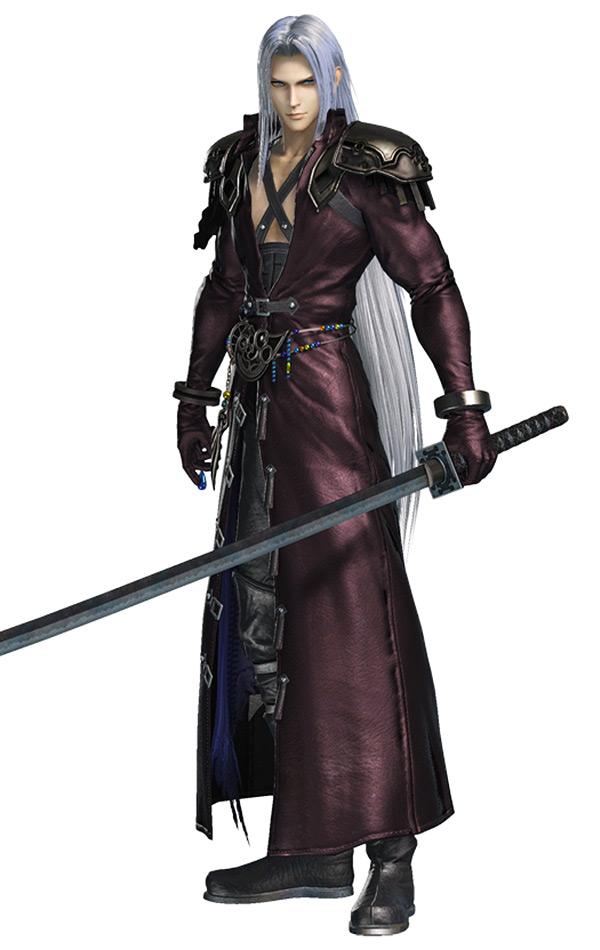 Sephiroth FF7 Ehrgeiz