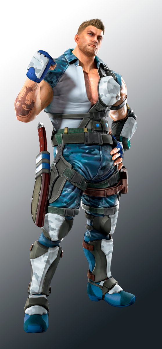 TEKKEN Mobile Release Dates Character Renders Newcomer Rodeo Revealed In Latest Trailer