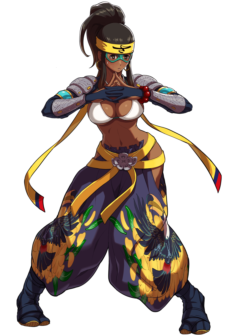 SNK Heroines Tag Team Frenzy Character Artwork