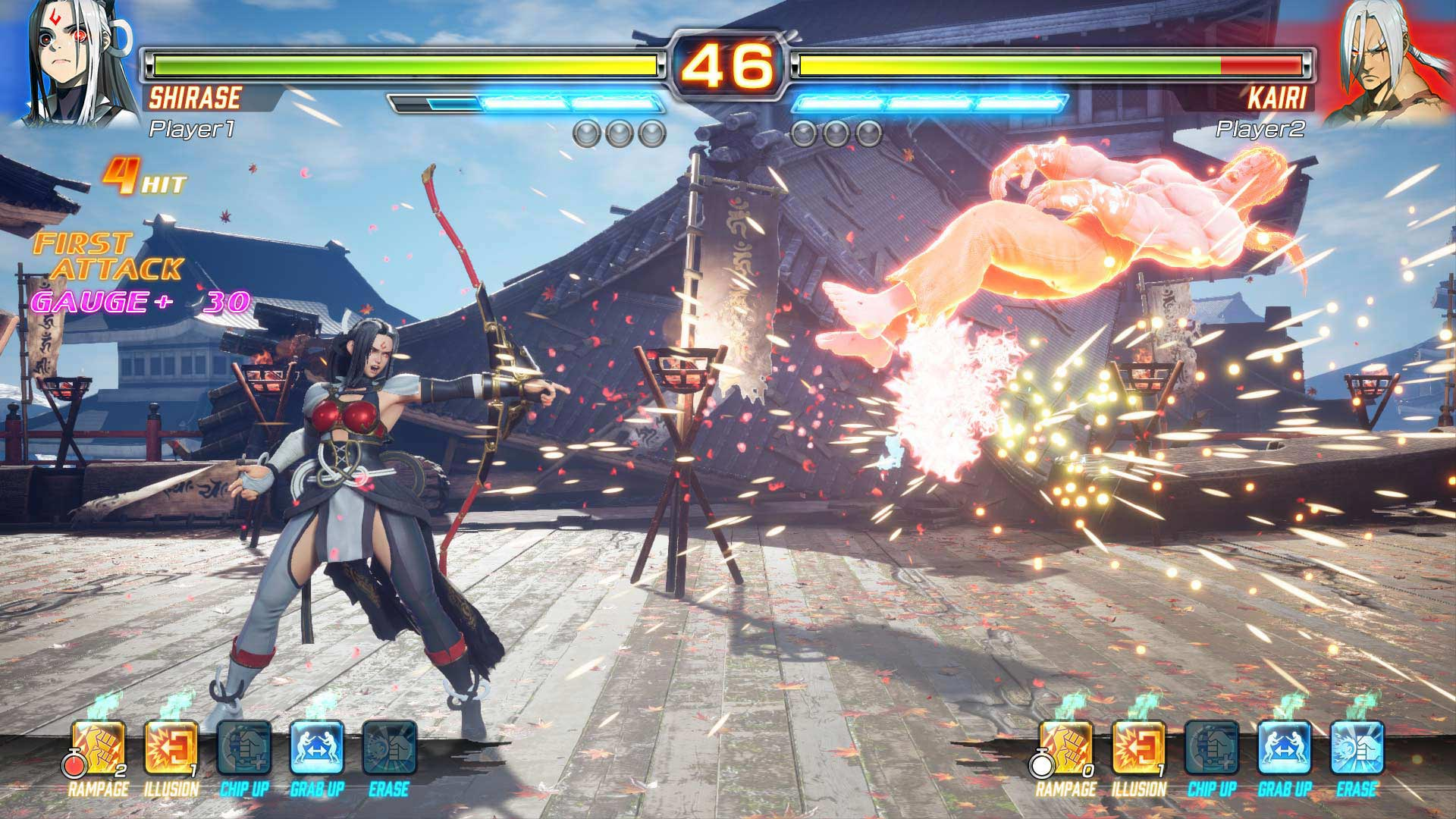 Akira Street Fighter Ex 3