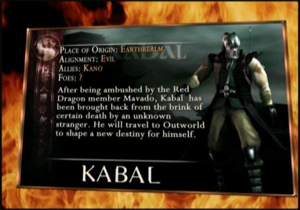 Kabal Mortal Kombat