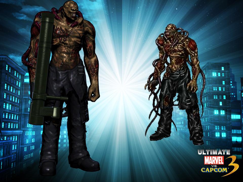 Nemesis Resident Evil  Marvel Vs Capcom