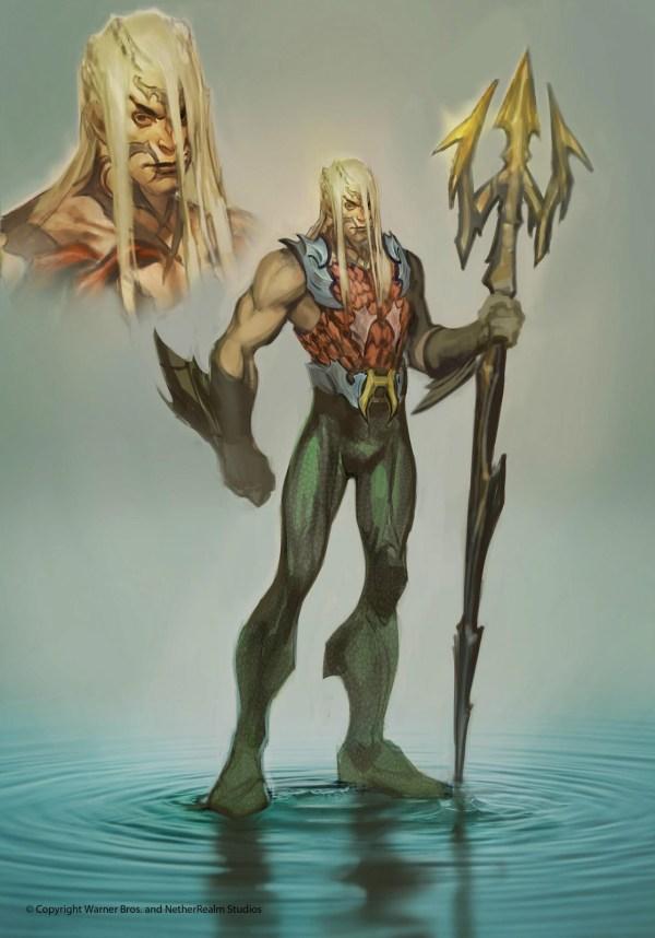 Injustice Aquaman Concept Art