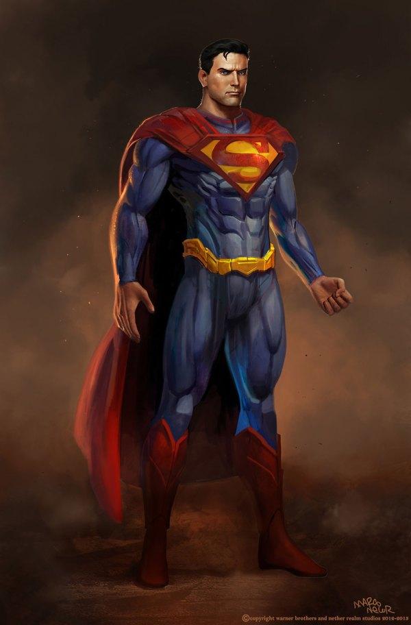 Injustice Gods Among Us Superman