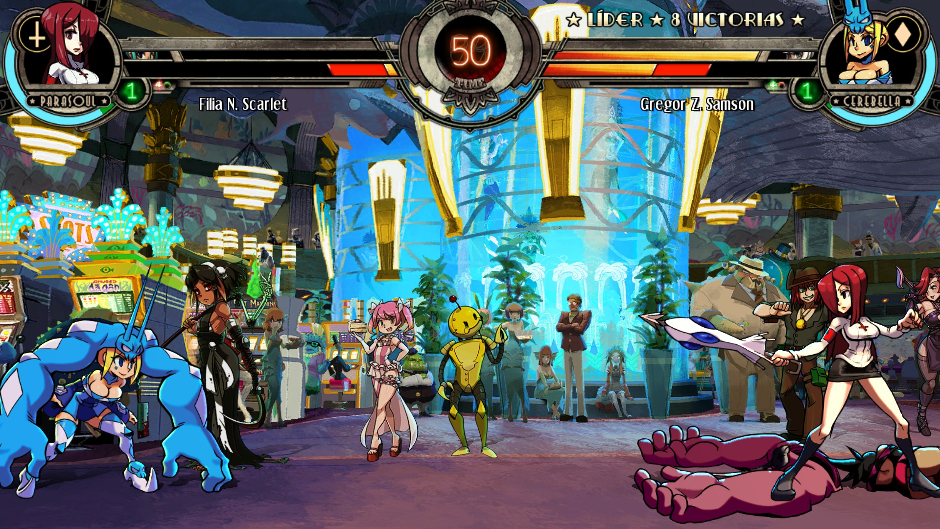 Skullgirls 2nd Encore  TFG Profile  Artwork Gallery