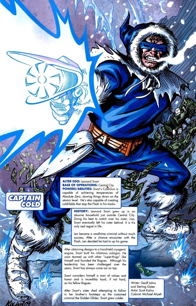 Captain Cold DC  Injustice