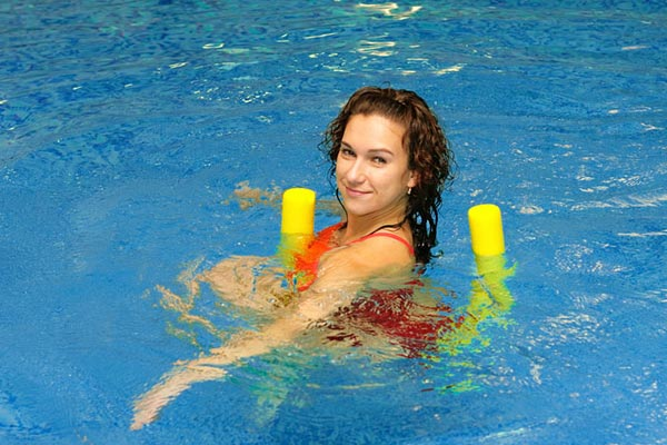 piscina de treino para a fibromialgia