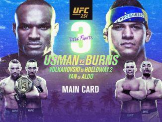 UFC 251 poster
