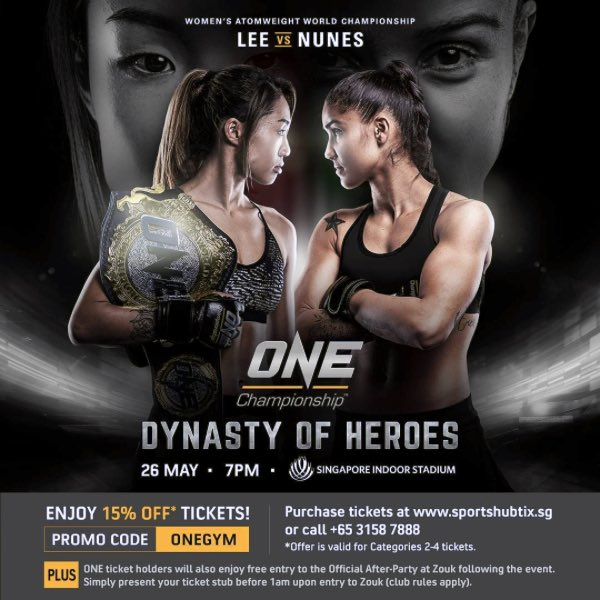 MMA SINGAPORE ONE FC
