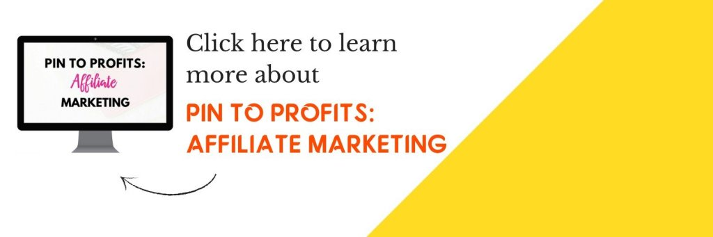 Pin To Profits: Affiliate Marketing Banner