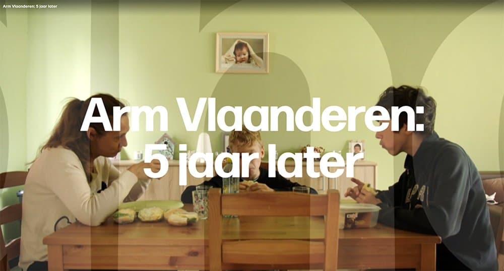 """The documentary """"Arm Vlaanderen: 5 jaar later"""""""