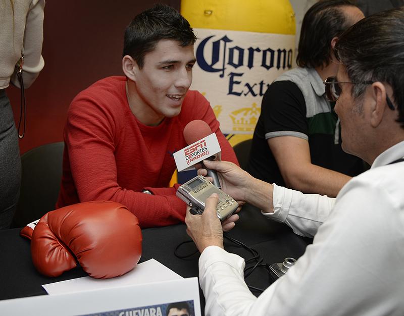 randy caballero vs alberto guevara los angeles press conference