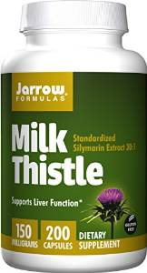 Milk Thistle, milk thistle for heavy periods, milk thistle heavy menstruation, Jarrow Formulas Milk Thistle Standardized Silymarin Extract, milk thistle extract, milk thistle capsule