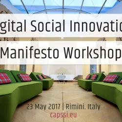 Digital Social Innovation Manifesto Workshop