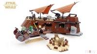 LEGO Star Wars 6210 Star Wars Jabba The Hutt Sail Barge ...