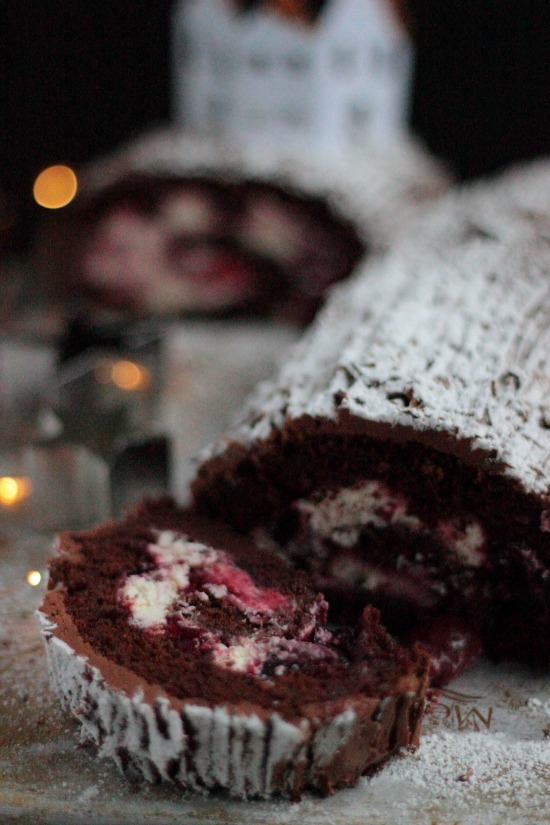 Black Forest Yule Log Figs Amp Pigs