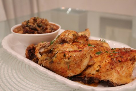Image result for Lemon roast chicken with chorizo stuffing