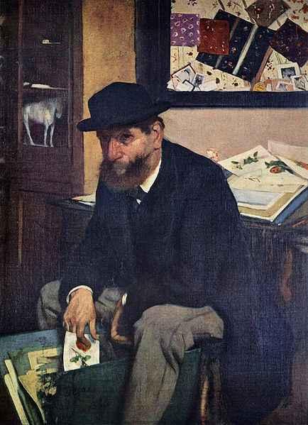 der Kunstsammler von Edgar Degas