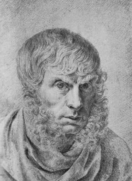 Selbstportrait Caspar David Friedrich