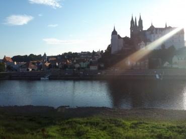 Sonnenstrahl mit Blick zur Burg | 08.08.2017