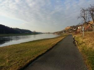 Elberadweg   11.01.2018
