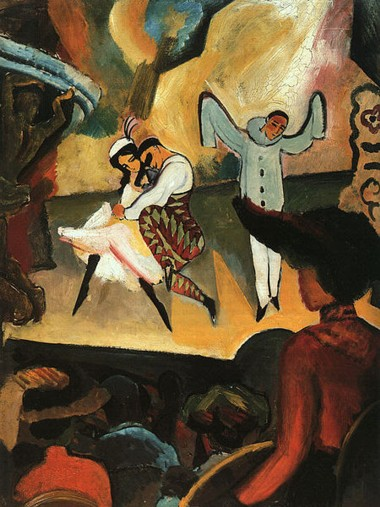 August Macke | Russisches Ballett