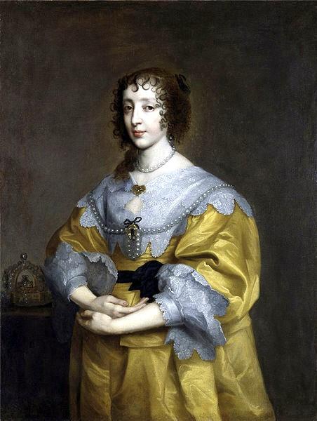 Henrietta-Maria-vam-Dyck