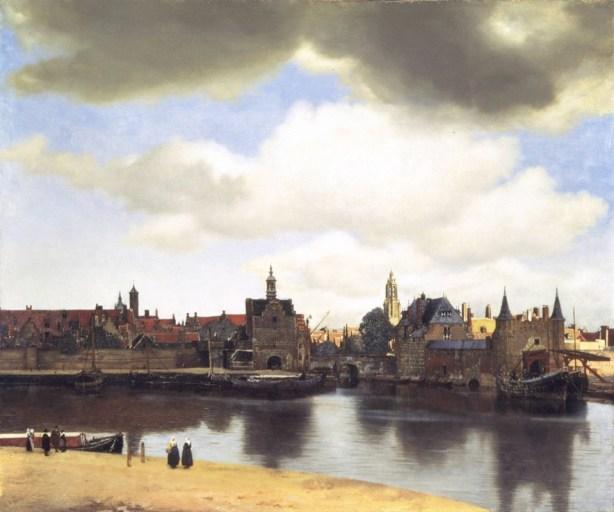 Ansicht van Delft (1660/1661) - Bildquelle: wiki-pd