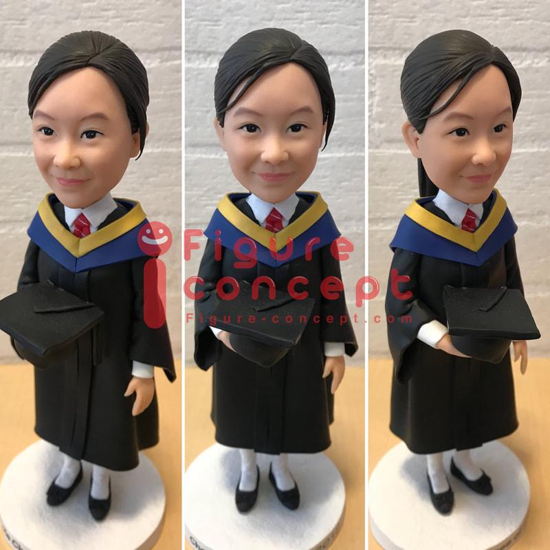 畢業公仔 畢業公仔訂造 畢業禮物 畢業公仔專門店 - Figure-Concept