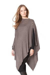 Seraphine Madison Bamboo Nursing Shawl in Brown by ...