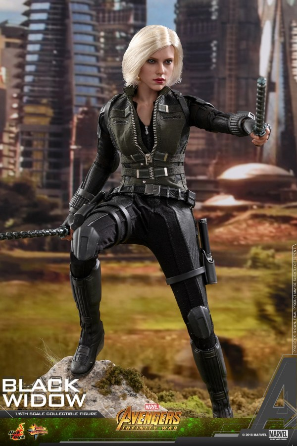 Hot Toys Avengers Infinity War 1 6th Scale Black Widow