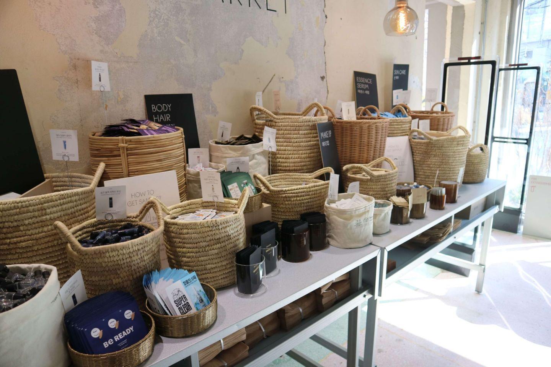 samples at amore seongsu market