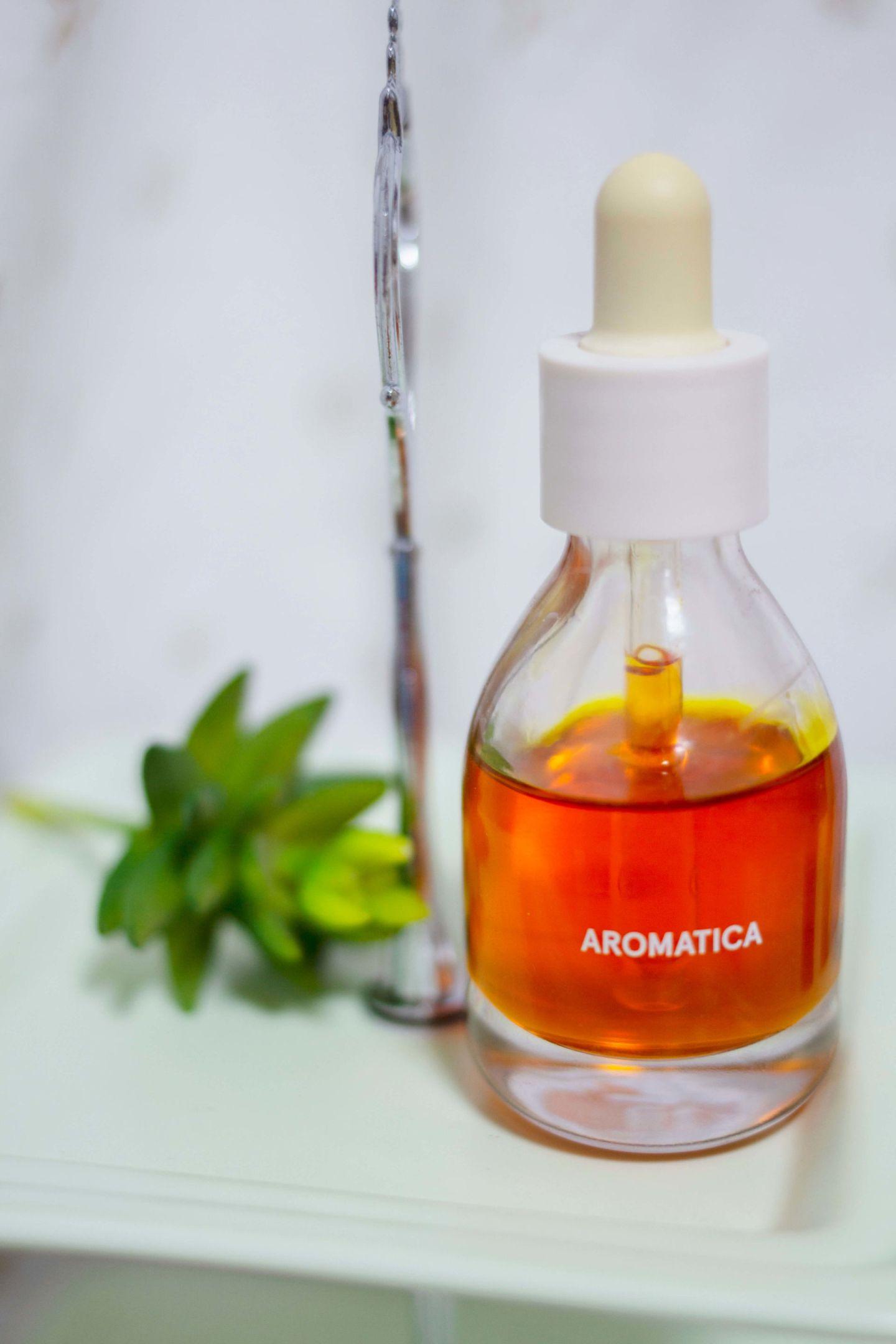 aromatica cold pressed rose hip oil