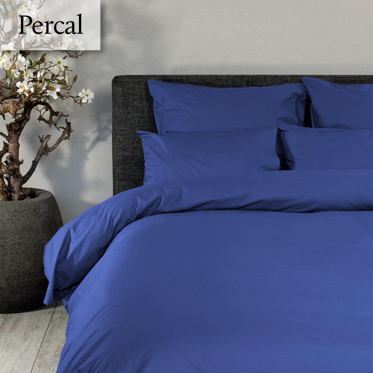 Dommelin Dekbedovertrek Deluxe Percal Jeansblauw