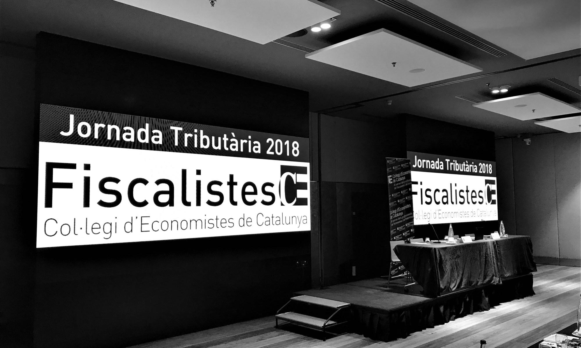 Crònica de la Jornada Tributària del Col·legi d'Economistes 2018