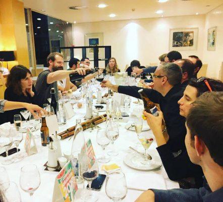 Premi Emprenedor de l'Any 2016:Assistim com a membres del jurat al lliurament del Primer Premi Onion a l'Emprenedor de l'Any lliurat al Sami Claret. Desembre 2016.