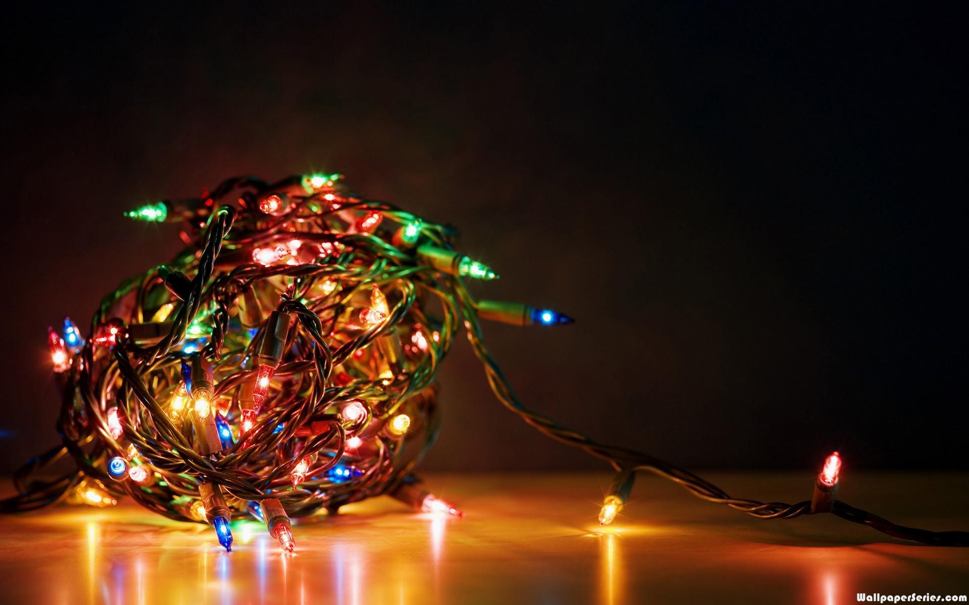 christmas lights hd wallpapers