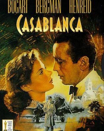 The Casablanca movie premiered on November 23