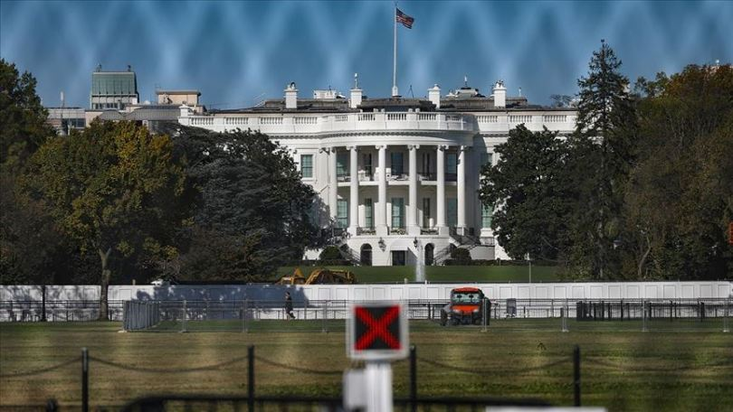 Extraordinary security measures taken around the White House in the USA due to elections 2