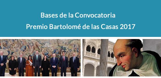 Premio Bartolomé de las Casas 2017