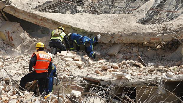 Ya son 96 los muertos por el terremoto de 8.2° en México