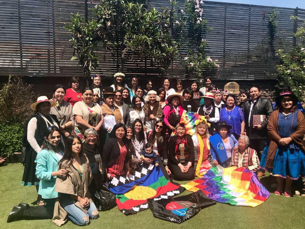 Chile: 35 lideresas sudamericanas inician hoy Diplomado para el Fortalecimiento del Liderazgo de las Mujeres Indígenas