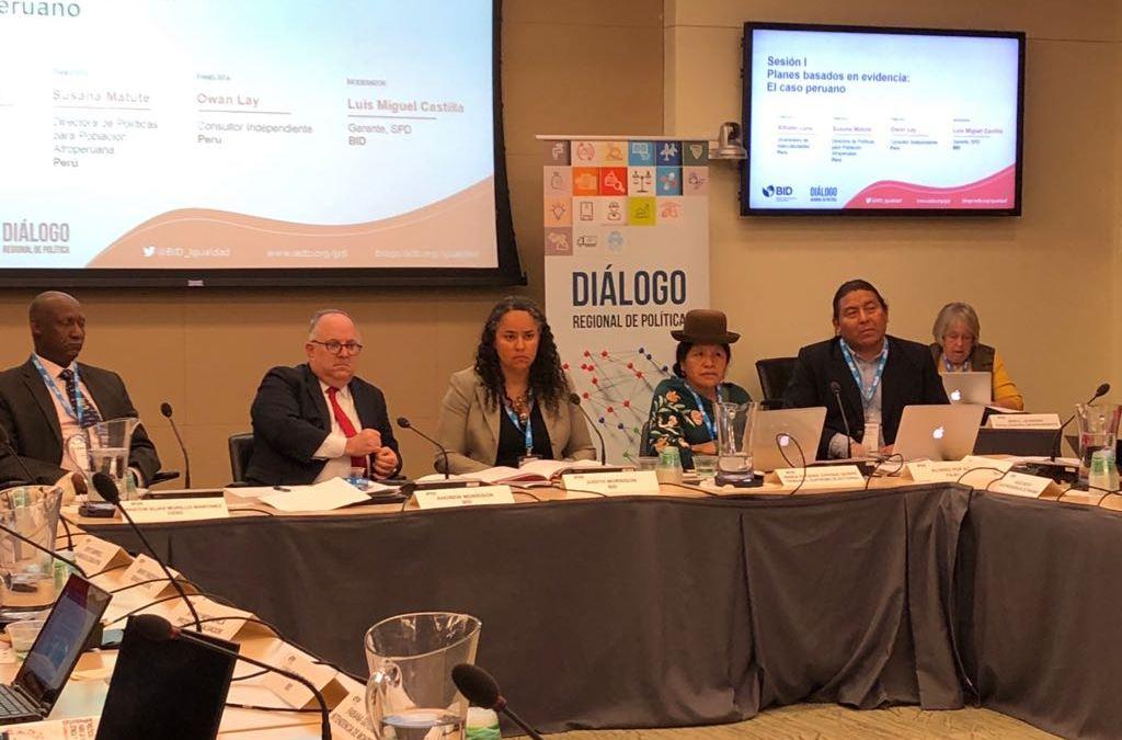 Washington: FILAC participo del II Diálogo Regional de Política sobre Diversidad auspiciado por  Banco Interamericano de Desarrollo