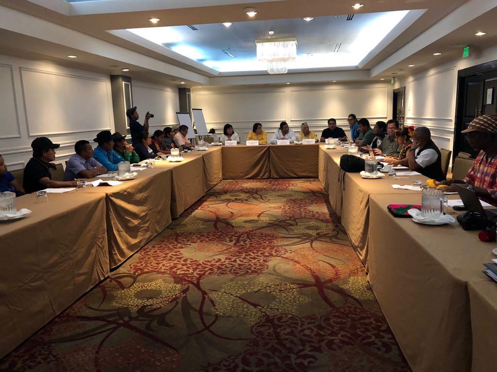 Representantes indígenas de Centroamérica y México inician juntos la Ruta Iberoamericana